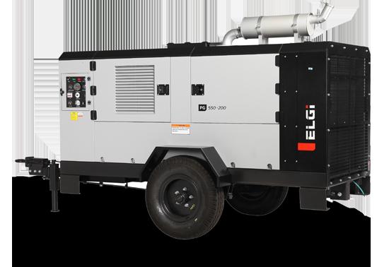 Diesel Trolley Portable Air Compressor
