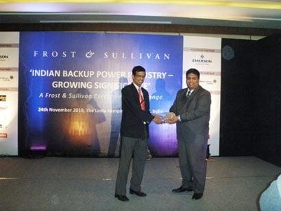 Growing industry award