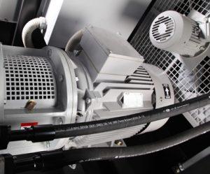 Portable electric air compressor 1