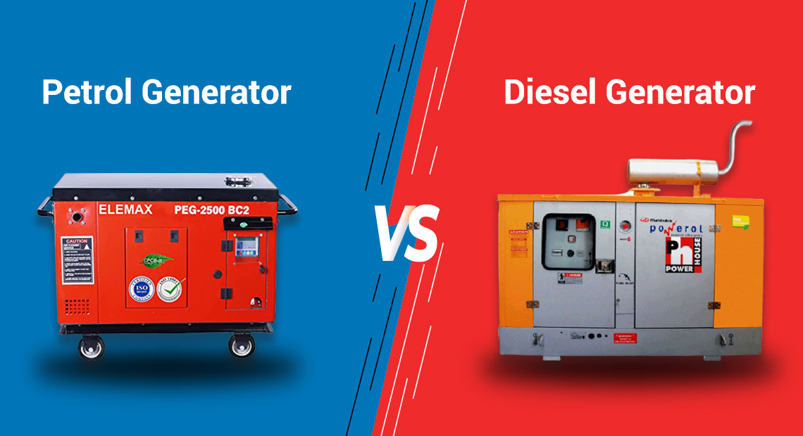 Diesel Generator Vs Petrol Generator. Which Is Best For Your Business?